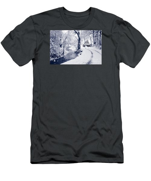 Men's T-Shirt (Slim Fit) featuring the photograph Nearly Home by Liz Leyden