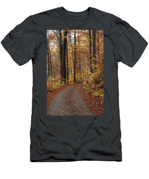 New Autumn Trails Men's T-Shirt (Athletic Fit)