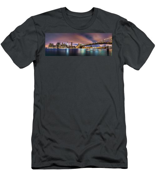 New Dawn Over New York Men's T-Shirt (Athletic Fit)