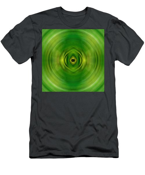 New Growth - Green Art By Sharon Cummings Men's T-Shirt (Athletic Fit)