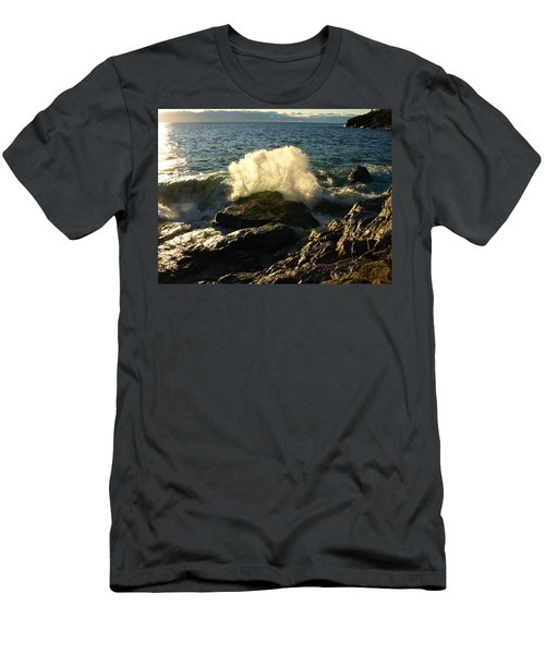 Men's T-Shirt (Slim Fit) featuring the photograph New Heights by James Peterson