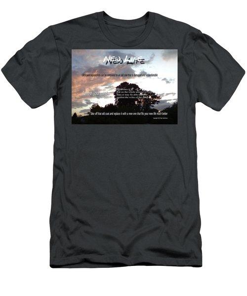 New Life Men's T-Shirt (Athletic Fit)