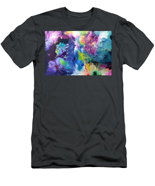 New Life Men's T-Shirt (Slim Fit) by Sally Trace