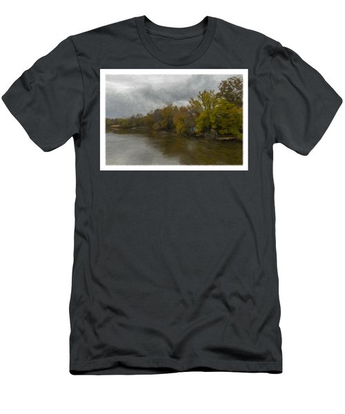 New Milford By Water Side Men's T-Shirt (Athletic Fit)