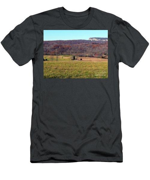 New Paltz Beauty Men's T-Shirt (Slim Fit) by Ed Weidman