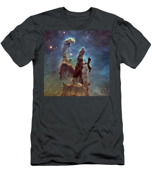 New Pillars Of Creation Hd Square Men's T-Shirt (Athletic Fit)
