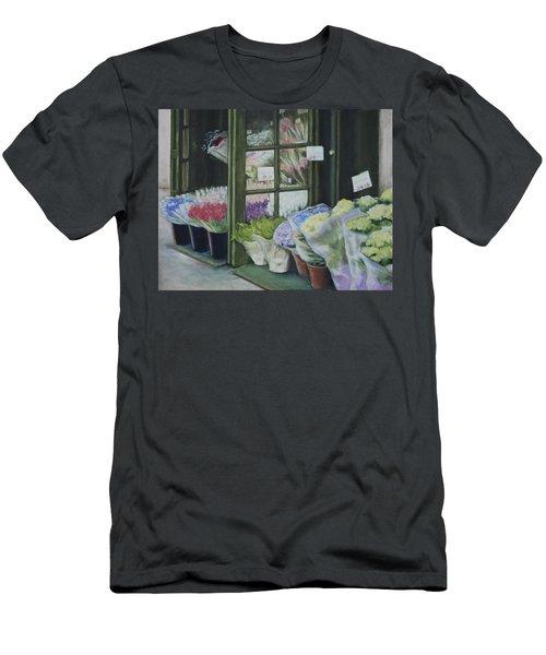 New York Flower Shop Men's T-Shirt (Athletic Fit)
