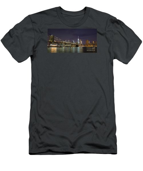 New York Nights Men's T-Shirt (Athletic Fit)