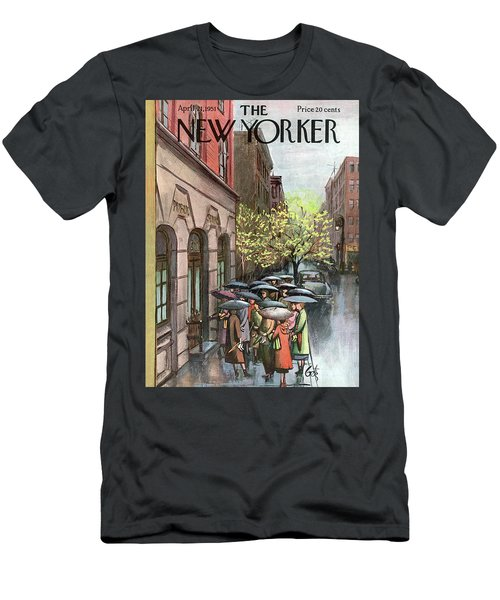 New Yorker April 21st, 1951 Men's T-Shirt (Athletic Fit)