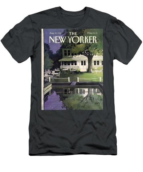 New Yorker August 29th, 1988 Men's T-Shirt (Athletic Fit)