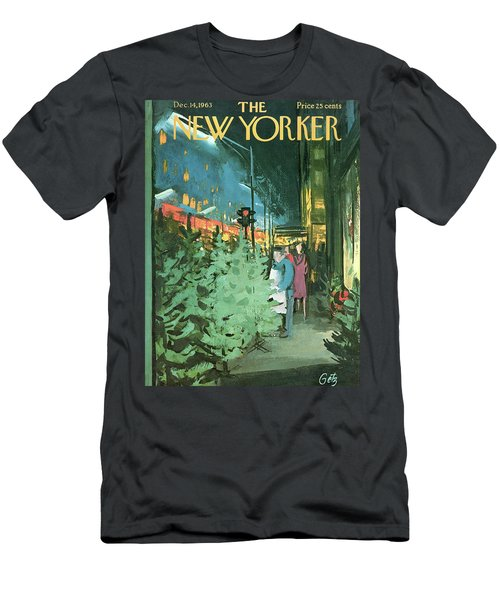New Yorker December 14th, 1963 Men's T-Shirt (Athletic Fit)