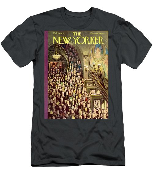 New Yorker February 16th, 1957 Men's T-Shirt (Athletic Fit)