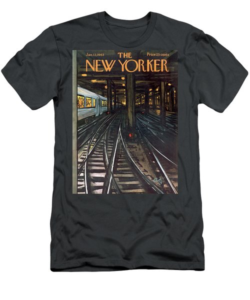 New Yorker January 12th, 1963 Men's T-Shirt (Athletic Fit)