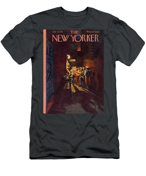 New Yorker July 14th, 1951 Men's T-Shirt (Athletic Fit)