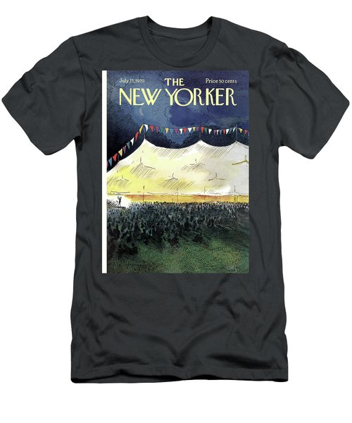 New Yorker July 25th, 1970 Men's T-Shirt (Athletic Fit)