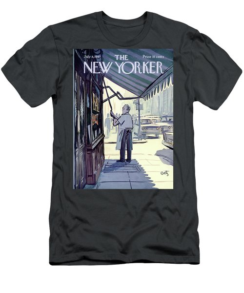 New Yorker July 8th, 1967 Men's T-Shirt (Athletic Fit)