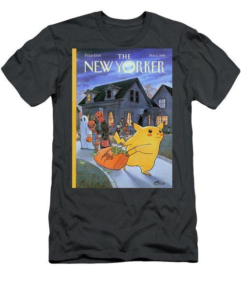 New Yorker November 1st, 1999 Men's T-Shirt (Athletic Fit)