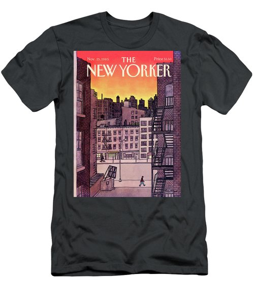 New Yorker November 25th, 1985 Men's T-Shirt (Athletic Fit)