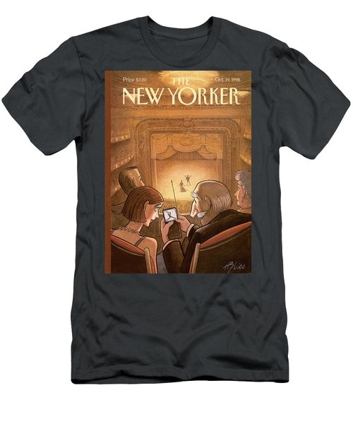 New Yorker October 19th, 1998 Men's T-Shirt (Athletic Fit)