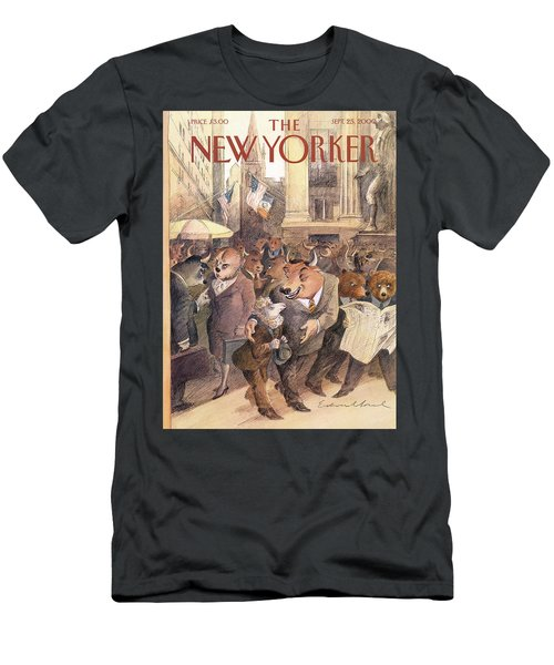 New Yorker September 25th, 2000 Men's T-Shirt (Athletic Fit)