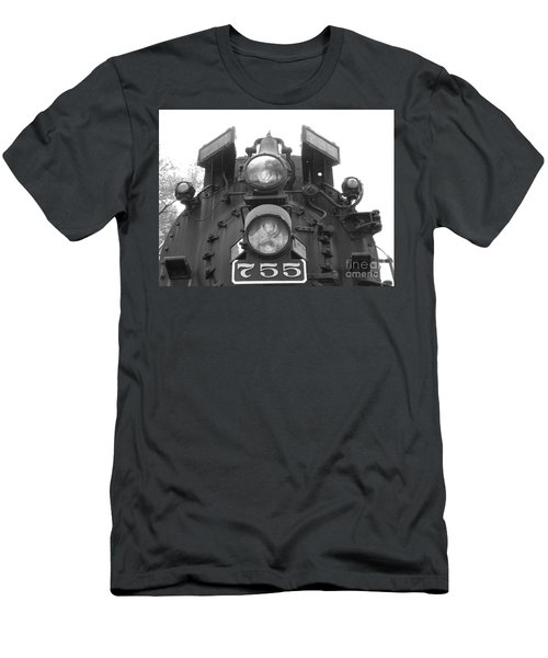 Nickel Plate Men's T-Shirt (Slim Fit) by Michael Krek