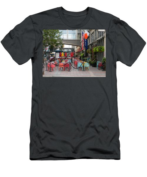 Nicollet Ave. Restaurant 1 Minneapolis Men's T-Shirt (Athletic Fit)