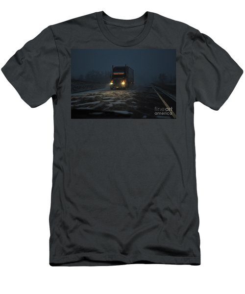 Night Driver Men's T-Shirt (Athletic Fit)