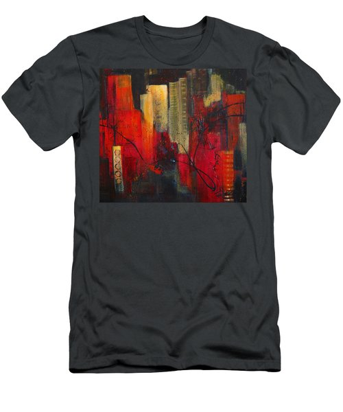Nightscape Men's T-Shirt (Athletic Fit)