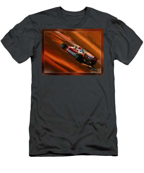 Niki Lauda's Ferrari Men's T-Shirt (Athletic Fit)