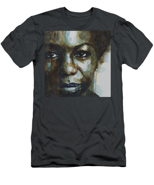 Nina Simone Ain't Got No Men's T-Shirt (Athletic Fit)
