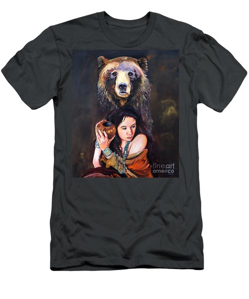 Nine Stars Woman - Bear Medicine Men's T-Shirt (Athletic Fit)
