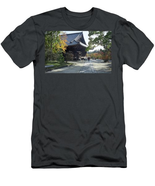 Ninna-ji Temple Compound - Kyoto Japan Men's T-Shirt (Athletic Fit)