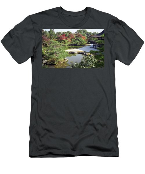 Ninna-ji Temple Garden And Pond - Kyoto Japan Men's T-Shirt (Athletic Fit)