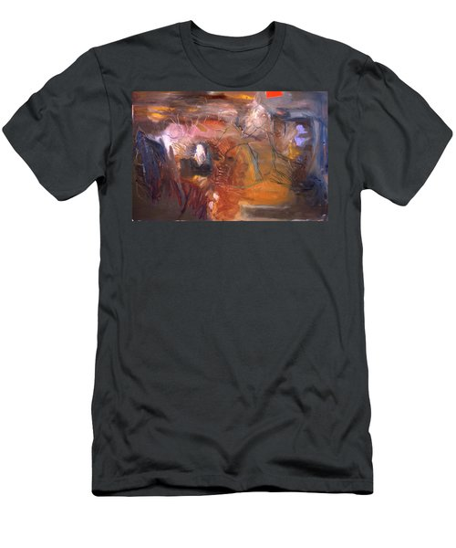 No 3 In A Series Of Human Landscapes Men's T-Shirt (Athletic Fit)