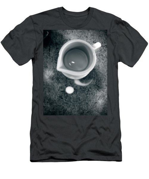 No Cream For My Coffee Men's T-Shirt (Athletic Fit)