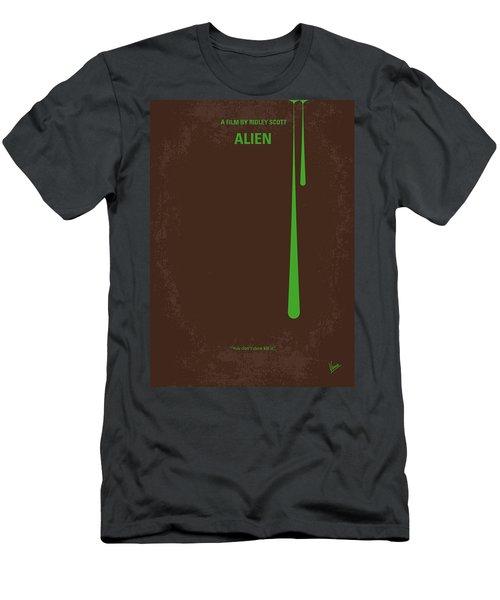 No004 My Alien Minimal Movie Poster Men's T-Shirt (Athletic Fit)