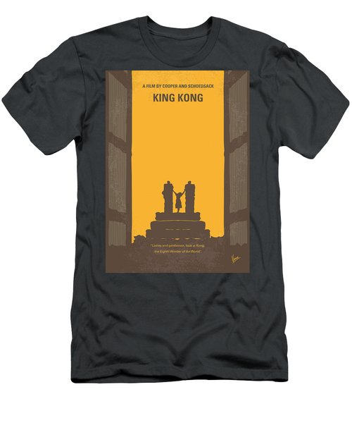 No133 My King Kong Minimal Movie Poster Men's T-Shirt (Athletic Fit)