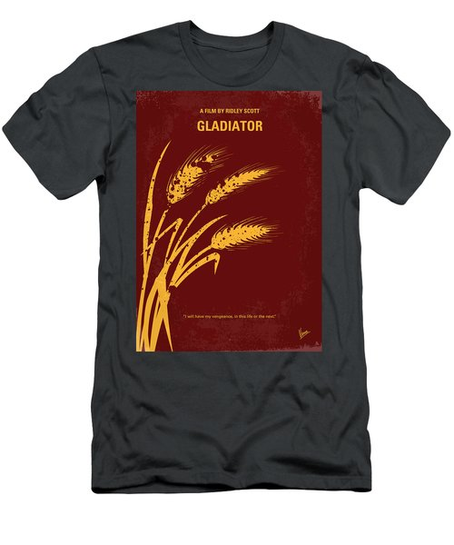 No300 My Gladiator Minimal Movie Poster Men's T-Shirt (Athletic Fit)