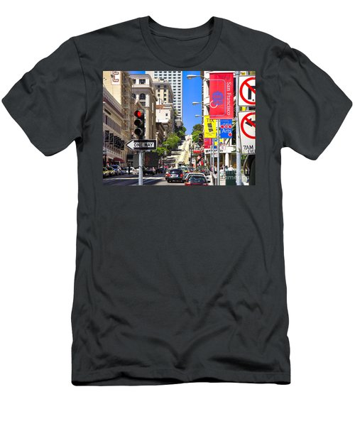 Nob Hill - San Francisco Men's T-Shirt (Athletic Fit)