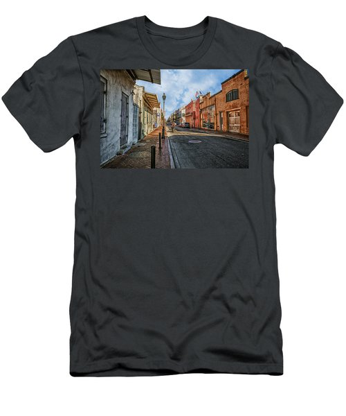 Nola French Quarter Men's T-Shirt (Slim Fit) by Sennie Pierson