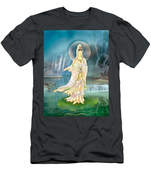 Non-dual Kuan Yin Men's T-Shirt (Athletic Fit)