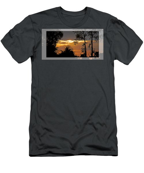North Carolina Sunset Men's T-Shirt (Athletic Fit)