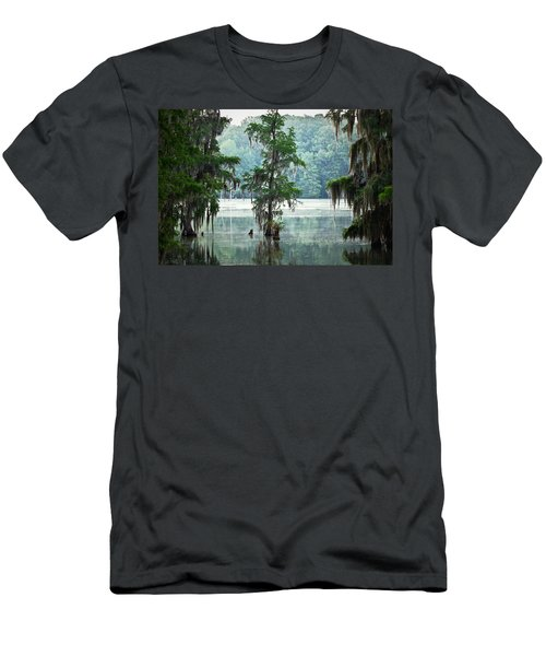 North Florida Cypress Swamp Men's T-Shirt (Athletic Fit)