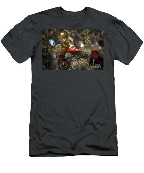 North Pole Express Men's T-Shirt (Athletic Fit)