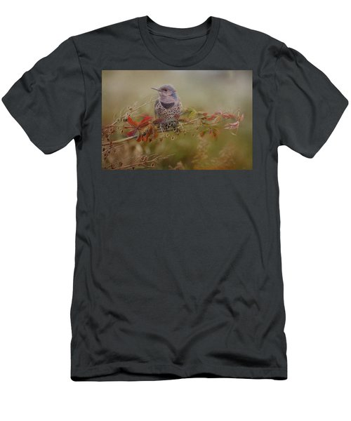 Northern Flicker In Fall Colors Men's T-Shirt (Athletic Fit)