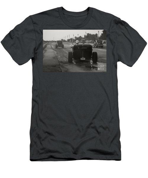 Nostalgia Drags Men's T-Shirt (Slim Fit) by Dennis Hedberg