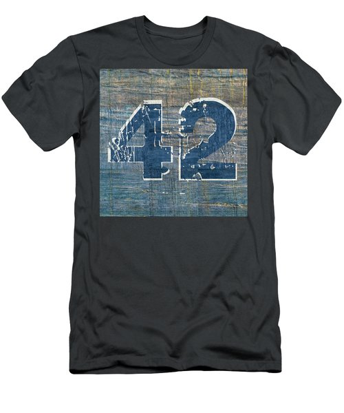 Number 42 Men's T-Shirt (Athletic Fit)