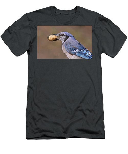 Nutty Bluejay Men's T-Shirt (Athletic Fit)