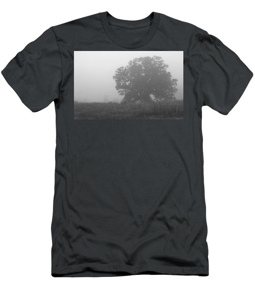 Oak In The Fog Men's T-Shirt (Athletic Fit)