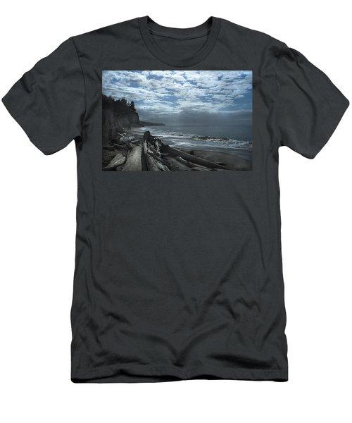 Ocean Beach Pacific Northwest Men's T-Shirt (Athletic Fit)